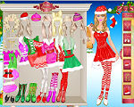 Barbie on Holiday Dress Up