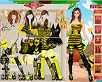 Bumble Bee Girl Dress Up