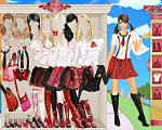 Chic School Uniforms Dress Up