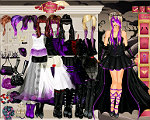 Goth Bride Dress Up