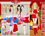 Taylor Swift Christmas Dress Up
